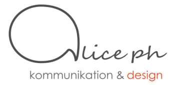 Alice PH Kommunikation & Design Logo